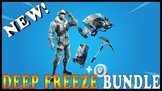 "NEW DEEP FREEZE BUNDLE SKIN in FORTNITE - NEW ""MOUNTED TURRET"" ITEM COMING SOON // Playing With SUBS"