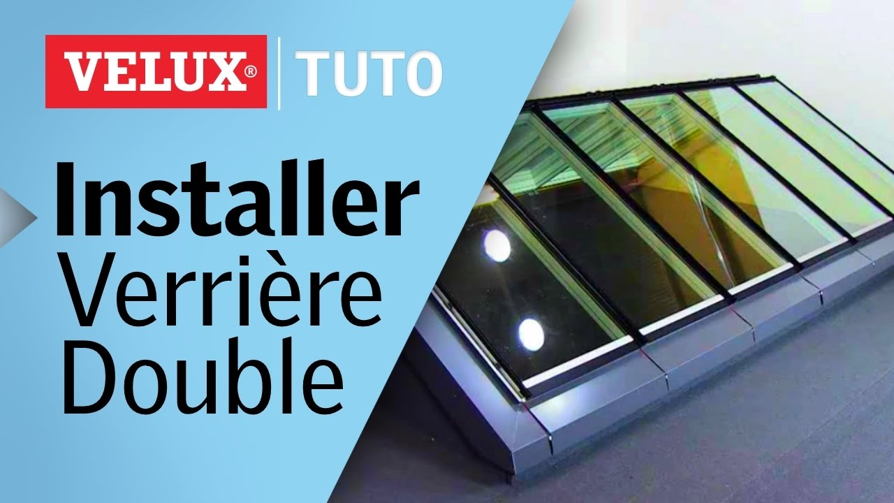 tuto comment installer une verri re modulaire double velux youtube. Black Bedroom Furniture Sets. Home Design Ideas