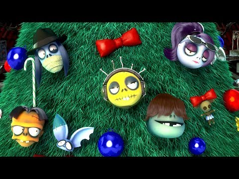 Zombie Dumb | 膦�牍勲崵 | Christmas Tree | Kid's Cartoon | Zombie Cartoon | Videos For Kids