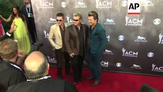 The biggest stars in country music arrive at the ACM Awards