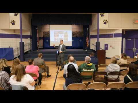 Superintendent Dr. Eric Knost's Town Hall Meeting Feb. 7, 2017