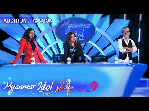 Myanmar Idol Season 4 - 2019   Yangon Episode-5   Judges Audition
