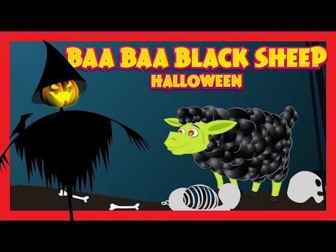 BAA BAA BLACK SHEEP - Halloween || Halloween Song For Kids - Halloween 2016