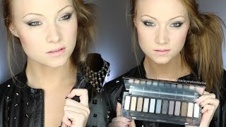 NEW Urban Decay Naked SMOKY PALETTE | TUTORIAL & REVIEW