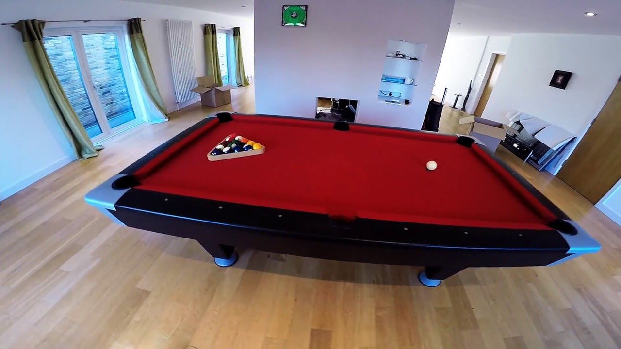 Brunswick Pool Table Recovered In Hainsworth Club Red YouTube - Brunswick centurion pool table