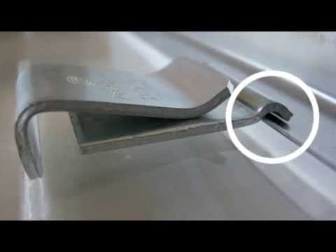 see how strong the franke sink g clips are