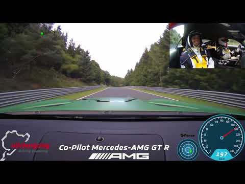 Mercedes-AMG GT R Co-PIlot mit Flying Uwe / Onboard