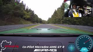 Mercedes-AMG GT R Co-PIlot mit Flying Uwe / Onboard