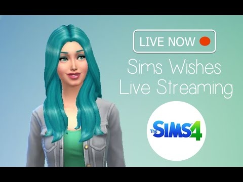 Sims Wishes - Live Stream - The Sims 4 Random Celebrity Create a Sim - Taylor Swift and Johnny Depp