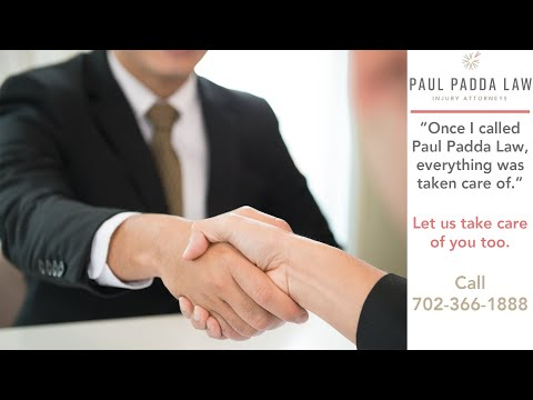 Las Vegas Car Accident Victim Found Help From Paul Padda Law