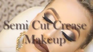 Semi Cut Crease Makeup   Por Camila Schmitz