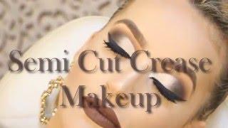 Semi Cut Crease Makeup   Por Camila Schmitz