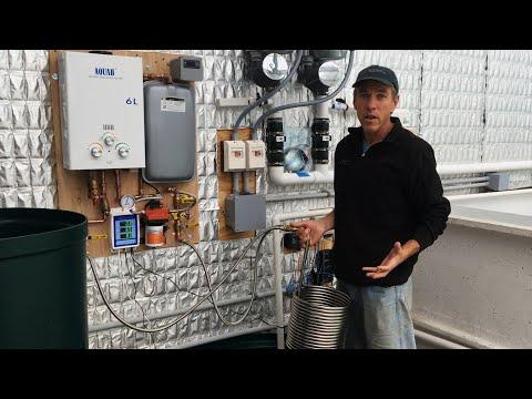 AquaHeat Propane Gas-Fired Heating System