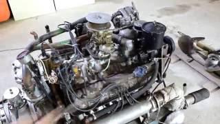 V8 4,25 ЗМЗ 511 моренизированный (М8ЧСПУ100) c катера Чибис