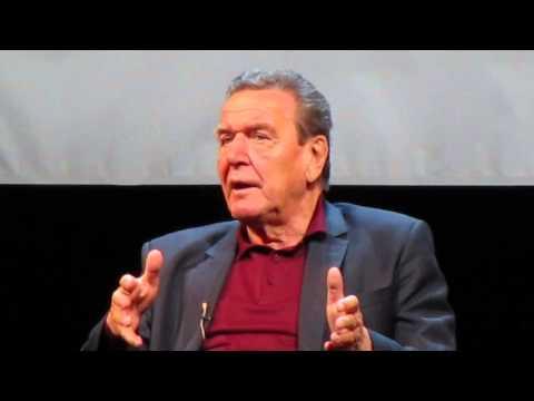 Ex-Bundeskanzler Gerhard Schröder über Merkels Asylpolitik