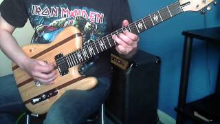 Iron Maiden - Murders In The Rue Morgue (Guitar Cover)