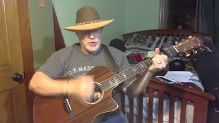 1730  - Delta Dawn -  Helen Reddy vocal and acoustic guitar cover with chords