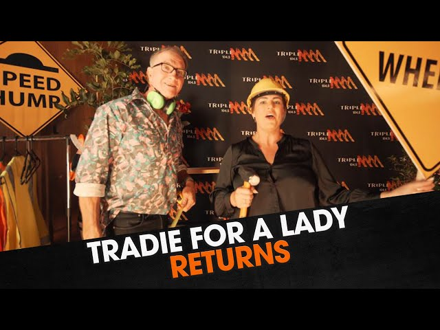Tradie for a Lady Returns | The Big Breakfast with Marto,  Margaux and Nick Cody