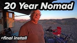 20 YEAR NOMAD MECHANIC LIVING IN RV TRAVEL TRAILER - (Badge)