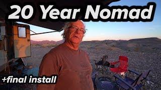 20 YEAR NOMAD MECHANIC LIVING IN RV TRAVEL TRAILER - (Badge)