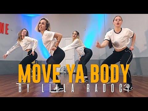 """Nina Sky """"MOVE YA BODY"""" Choreography by Lilla Radoci"""