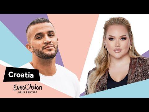 Eurovisioncalls Damir Kedžo - Croatia 🇭🇷 with NikkieTutorials
