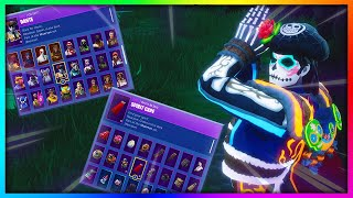 """Before You Buy """"DANTE"""" - All Skin and Back Bling's Combinations in Fortnite"""