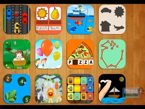 Kids preschool Games Free, Paint & colors, Numbers and Letters ...
