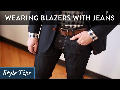b9152c0183a260 How to Wear a Blazer with Jeans - Tips for Guys - YouTube