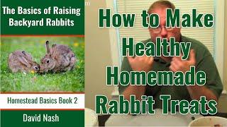 Juicer Pulp Rabbit Treat