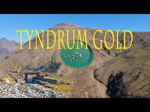GOLD Panning Tyndrum, - Amazing Scottish Gold
