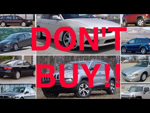 10 Used Cars You Should NEVER Buy (Part 5)