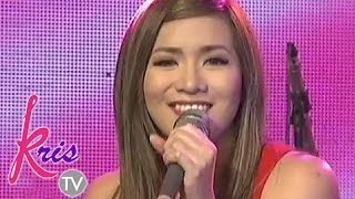 "Angeline Quinto sings ""Till My Heartaches End"""