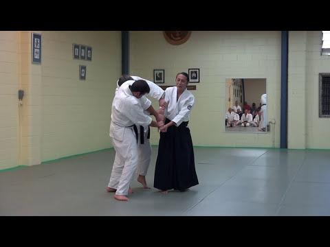 Mori Shihan 7th Dan Aiki-waza 2016 Aikido Brisbane Yoshinkan