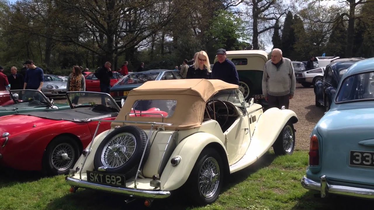 The Argory Vintage Rally 2014 - YouTube