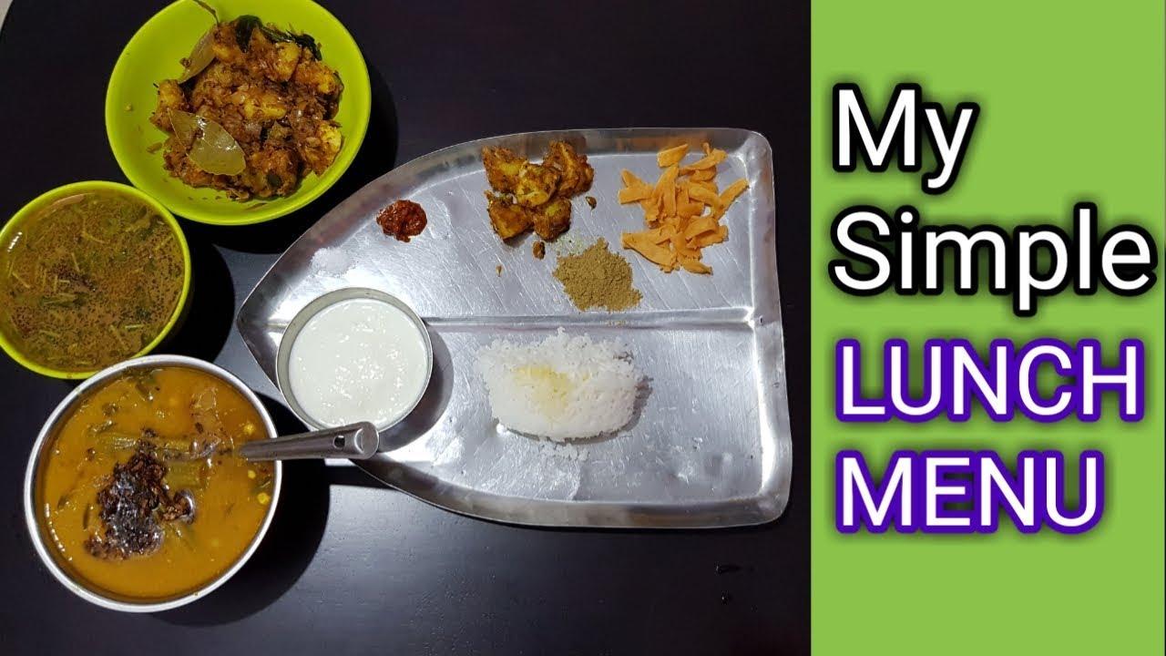 Tasty And Simple Dinner Menu In Tamil Youtube
