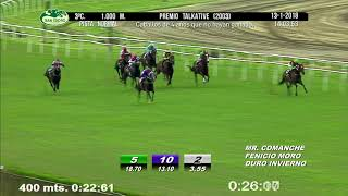 Vidéo de la course PMU PREMIO TALKATIVE 2003