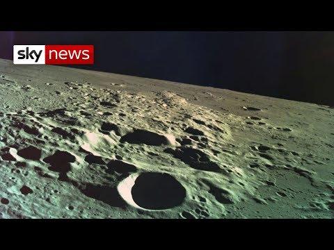 Israeli spacecraft crash-lands on the moon