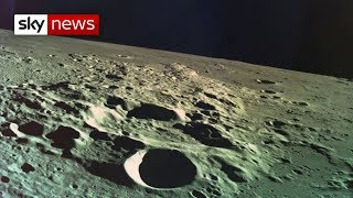 Israeli spacecraft crash-lands on the moon