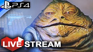 Star Wars Battlefront | NEW Map Gameplay & JABBA THE HUTT CONFIRMED! | Live Stream (Part 40)