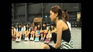 AKB48 よっしゃぁ~行くぞぉ~!in西武ドーム』のリハーサル時の一場面...