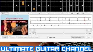 [Guitar Solo Tab] Baby One More Time (Britney Spears)