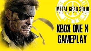 Metal Gear Solid: Peace Walker Xbox One X Gameplay (A HIDEO KOJIMA GAME) (Upscaled 4K)