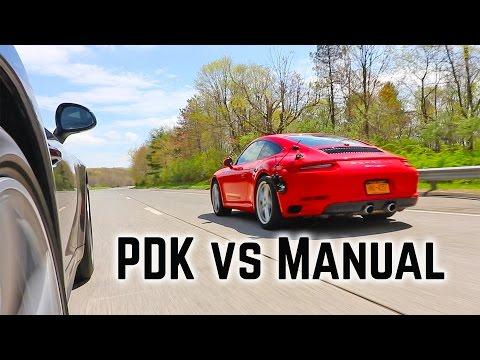 Porsche PDK vs Manual Transmission