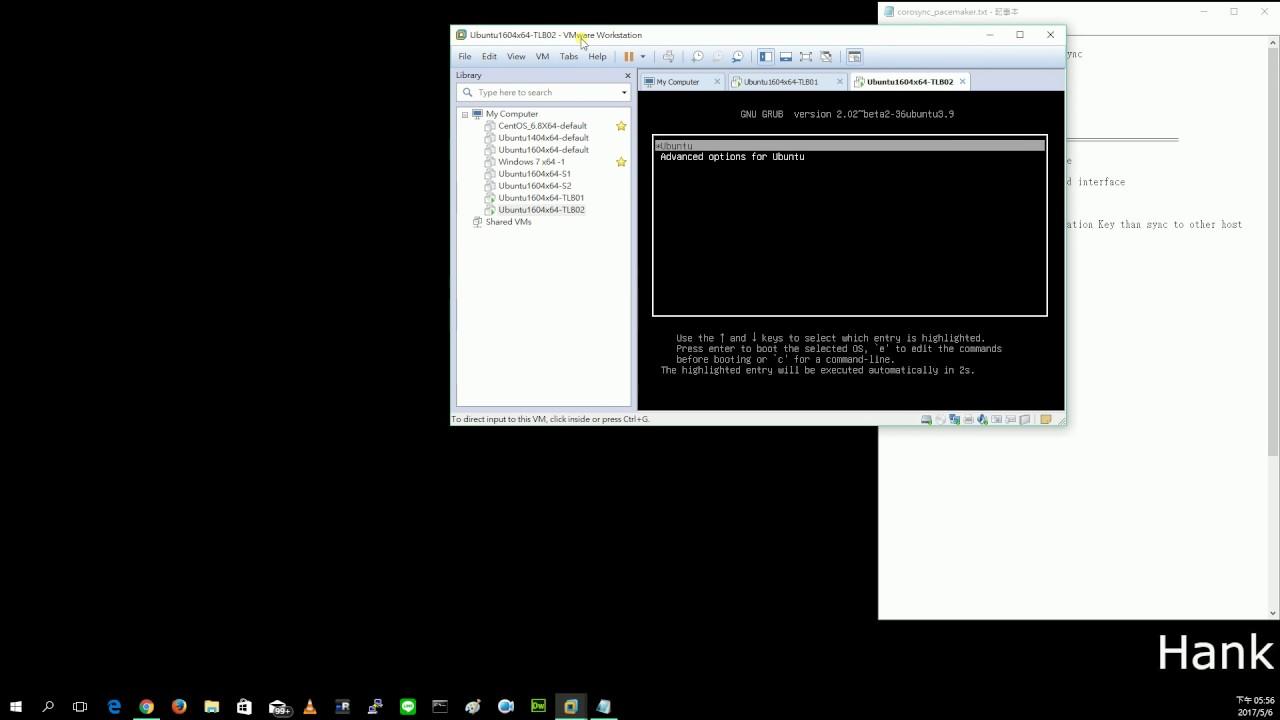 初學者 - Ubuntu16.04 + Corosync + Pacemaker + HAPROXY + RSYNC