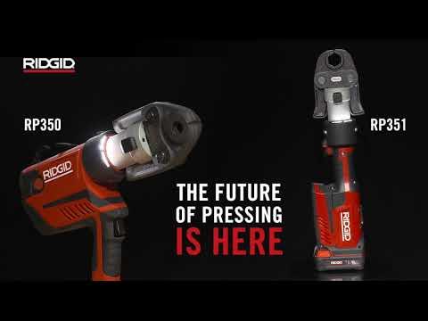 RIDGID RP 350 & RP 351 Pressing Tools