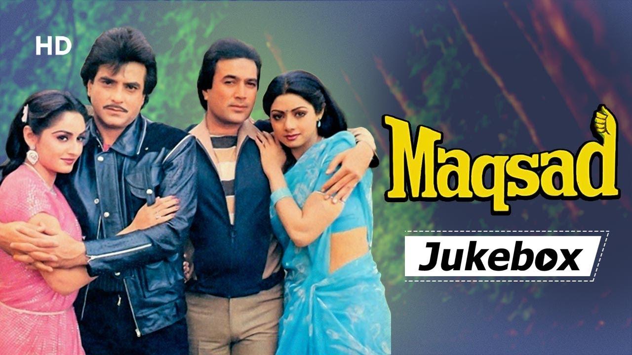 Download Maqsad All Songs (1984) HD   Rajesh Khanna   Sridevi   Jeetendra   Jaya Prada   Bappi Lahiri Hits