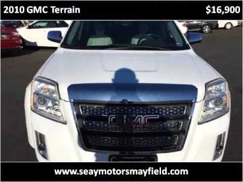 2010 gmc terrain used cars mayfield ky youtube for Seay motors mayfield ky