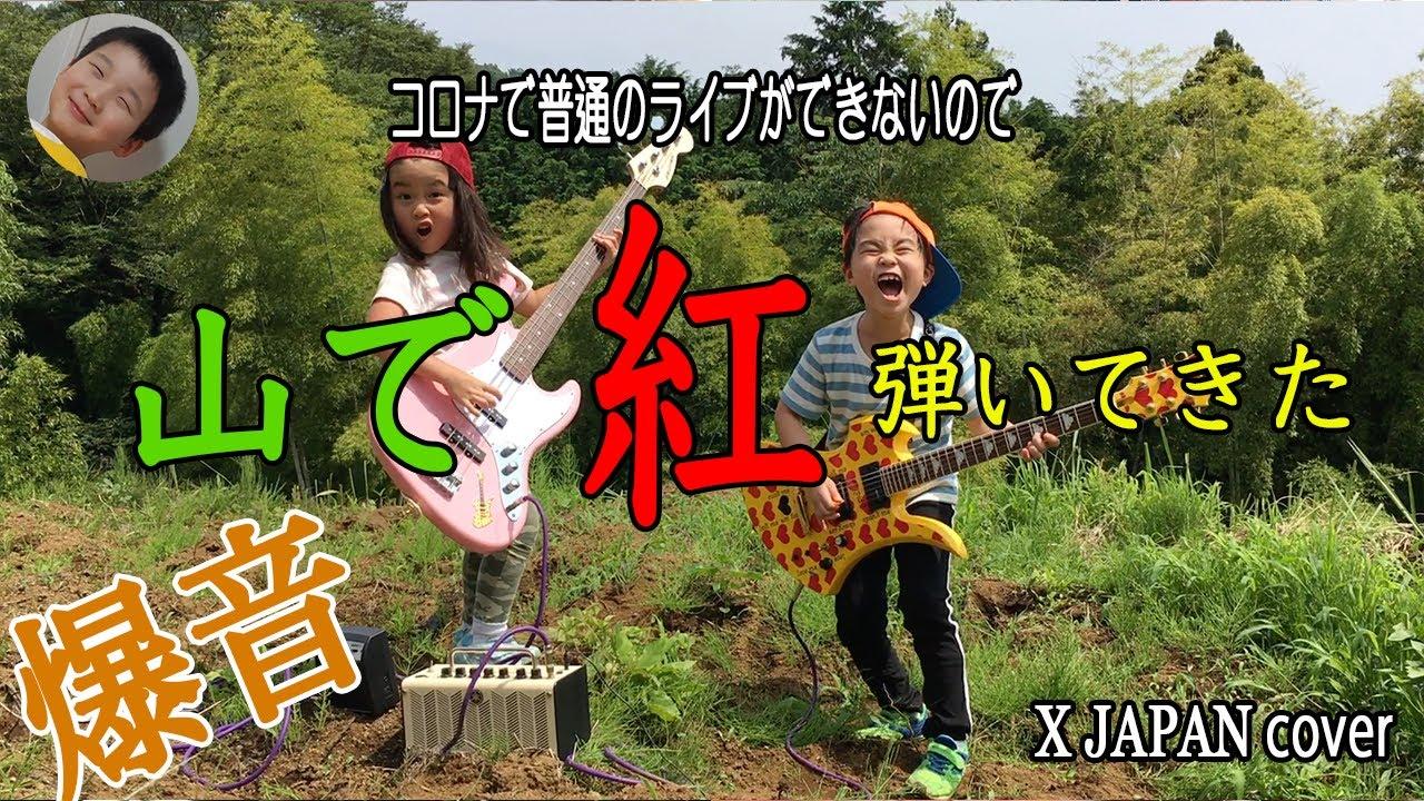 山で「紅」弾いてきた -X JAPAN Cover- ロイロイロ