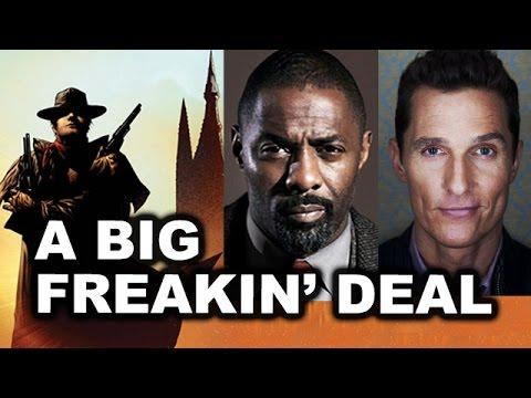 The Dark Tower 2017 REVIEW aka REACTION Idris Elba & Matthew McConaughey - Beyond The Trailer